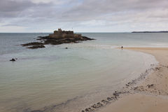 Fortress in Saint Malo Royalty Free Stock Image