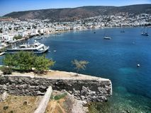 Fortress Saint Peters in Bodrum Turkey Stock Photos