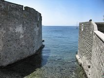 Fortress Saint Peters in Bodrum Turkey Royalty Free Stock Image