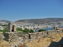 Fortress Saint Peters in Bodrum Turkey Stock Photography