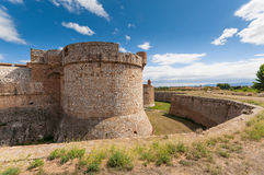 Fortress Salses Royalty Free Stock Photos