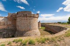 Fortress Salses Royalty Free Stock Photos