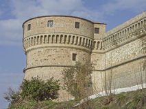 Fortress in San Leo Royalty Free Stock Image