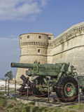Fortress in San Leo Royalty Free Stock Images