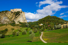Fortress of San Leo, Italy Royalty Free Stock Images
