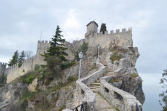 Fortress in San Marino Royalty Free Stock Photography