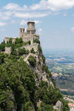Fortress  in San Marino Royalty Free Stock Images