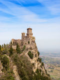 Fortress of San Marino Royalty Free Stock Photography