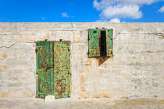 Fortress Sant'elmo in Malta, a fortification.  Royalty Free Stock Photography
