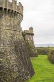 fortress of sarzanello Royalty Free Stock Photo