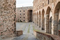 Fortress in Savona town in Italy. The fortress in Savona town in liguria a region of italy Stock Photography