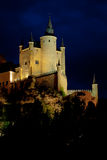 Fortress of Segovia Stock Images