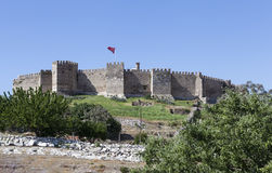 Fortress Selcuk in Selcuk. Turkey. Royalty Free Stock Photos