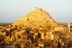 Fortress of Shali (Schali ) the old Town of Siwa Royalty Free Stock Photography