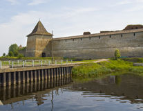 Fortress Shlisselburg Royalty Free Stock Photography