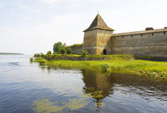 Fortress Shlisselburg Stock Photo