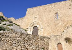 Fortress in Sicily Royalty Free Stock Photos