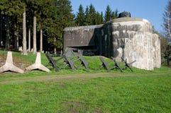 Fortress Skutina, Czech republic. Fortress Skutina from II. world war in Orlicke mountain, Czech republic Stock Image