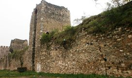 Fortress Smederevo Royalty Free Stock Photos
