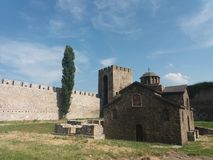 Fortress Smederevo stock image
