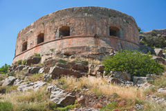 Fortress, Spinalonga Island. Stock Image