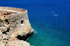 The fortress on Spinalonga Island Stock Photography
