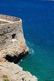 The fortress on Spinalonga Island Stock Photography