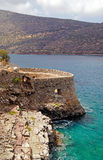 The fortress of Spinalonga Stock Photos