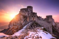 Fortress in Srebrenik, Bosnia and Herzegovina Stock Photography