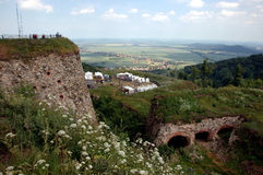 Fortress in Srebrna Gora, Poland Royalty Free Stock Image