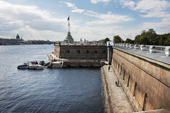 Fortress  in  St.Petersburg Royalty Free Stock Photo