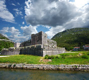 Fortress in Ston. Croatia. Stock Image