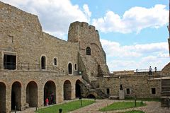 Fortress of Targu Neamt, Romania Royalty Free Stock Images