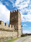 Fortress in Sudak Stock Image