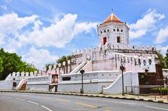 Fortress sun Chao Phraya river in Bangkok Royalty Free Stock Image
