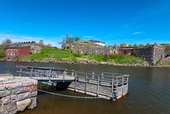 Fortress of Suomenlinna. Royalty Free Stock Image