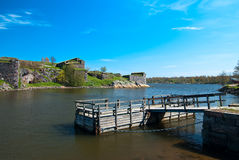 Fortress of Suomenlinna. Stock Photo