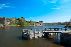Fortress of Suomenlinna. Stock Photo