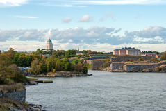 Fortress of Suomenlinna. Helsinki. Finland. Royalty Free Stock Image