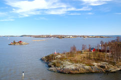 Fortress of Suomenlinna. Helsinki. Finland. Stock Photography