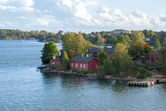 Fortress of Suomenlinna. Helsinki. Finland. Stock Photo