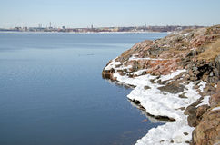 Fortress of Suomenlinna Royalty Free Stock Photos