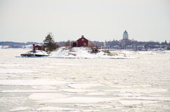 Fortress of Suomenlinna Royalty Free Stock Images