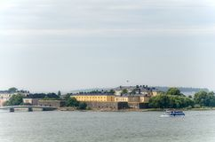 Fortress of Suomenlinna Stock Photos
