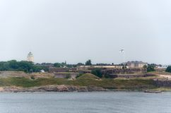 Fortress of Suomenlinna Stock Image