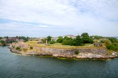 Fortress of Suomenlinna Royalty Free Stock Image
