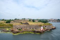 Fortress of Suomenlinna Stock Photos