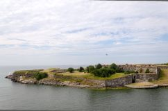 Fortress of Suomenlinna Stock Images