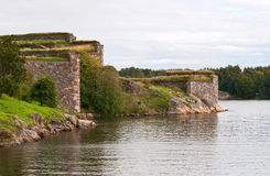Fortress of Suomenlinna (Sveaborg) Royalty Free Stock Image