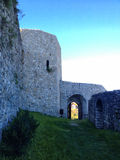 Fortress in tesanj stock photography